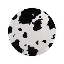 "cow_print_fur_3a_12x12 3.5"" Button"
