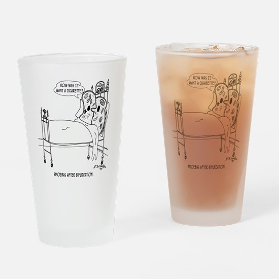 5016_biology_cartoon Drinking Glass