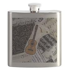 guitar-classical-ornament Flask