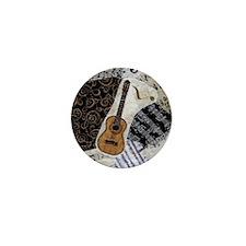 guitar-classical-ornament Mini Button