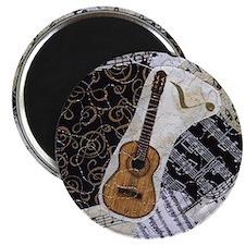 guitar-classical-ornament Magnet