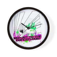 REPORT TO THE DANCEFLOOR Wall Clock