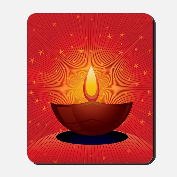 Diwali Festival of Lights Mousepad