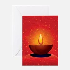Diwali Festival of Lights Greeting Card