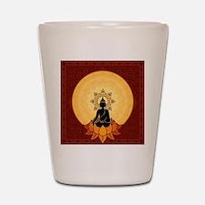 Serene Buddha Artwork Shot Glass