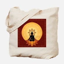 Serene Buddha Artwork Tote Bag