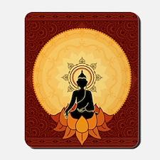 Serene Buddha Artwork Mousepad