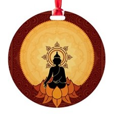 Serene Buddha Artwork Ornament