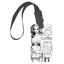 Hot Comic Book Style Girl Joke T Luggage Tag