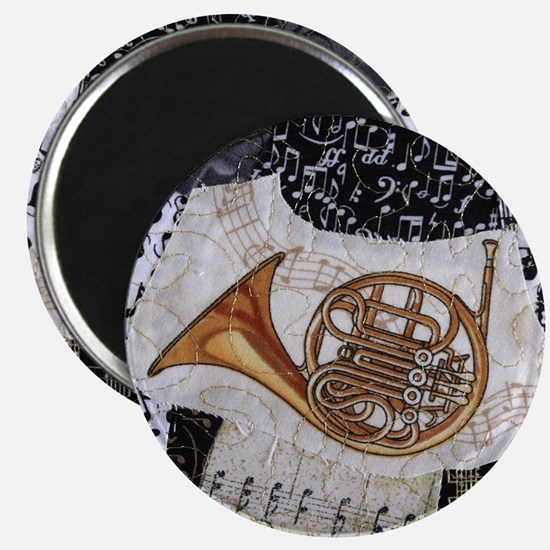 french-horn-ornament Magnet