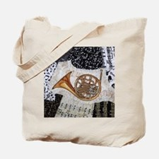french-horn-ornament Tote Bag