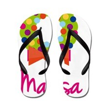 Christmas-wreath-Marisa Flip Flops