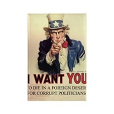 uncle sam photoshop Rectangle Magnet