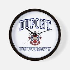 DUPONT University Wall Clock