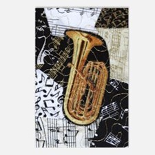 tuba-ornament Postcards (Package of 8)