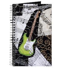 guitar-green-strat-ornament Journal