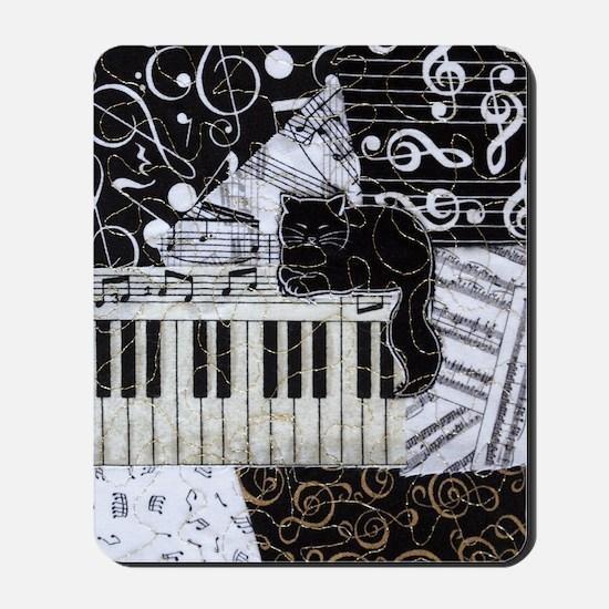 keyboard-sitting-cat-ornament Mousepad