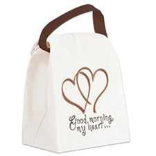coffee-heart1 copy Canvas Lunch Bag