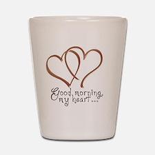 coffee-heart1 copy Shot Glass