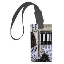 bass-clarinet-ornament Luggage Tag