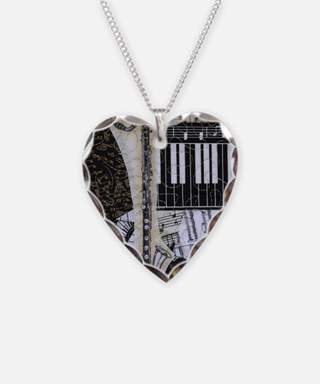 bass-clarinet-ornament Necklace