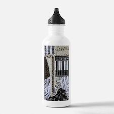 bass-clarinet-ornament Water Bottle