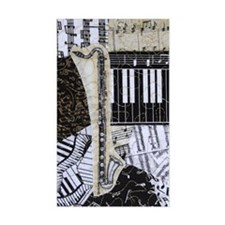 bass-clarinet-ornament Decal