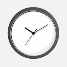 Meat Candy Distressed- White Wall Clock