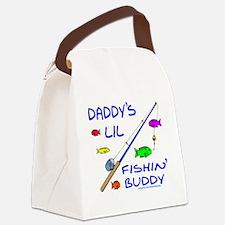 DaddysFishinBuddy copy Canvas Lunch Bag