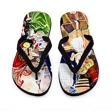 ALICE IN WONDERLAND013 Flip Flops