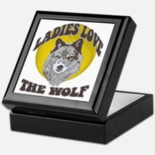 Ladies Love the Wolf Keepsake Box