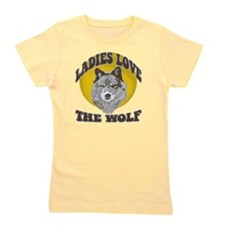 Ladies Love the Wolf Girl's Tee