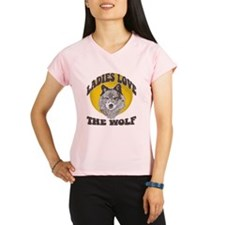 Ladies Love the Wolf Performance Dry T-Shirt