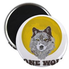 Lone Wolf Magnet