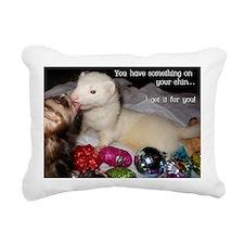 little helper Rectangular Canvas Pillow