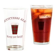 SCOTTISH_10x10bk Drinking Glass