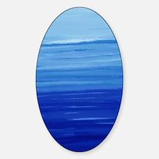 oceanlayers-ipad_case Sticker (Oval)