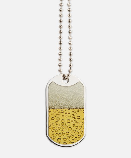 Beer Bubbles Dog Tags
