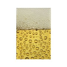 Beer Bubbles Rectangle Magnet