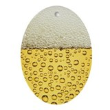 Beer Oval Ornaments
