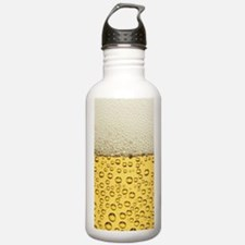 Beer Bubbles Water Bottle