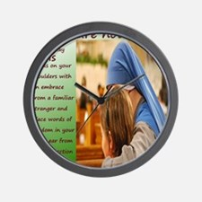 nun and child_Final Wall Clock