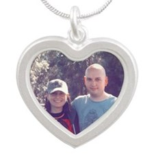 Jolie and Benj Silver Heart Necklace