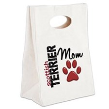 D Scottish Terrier Mom 2 Canvas Lunch Tote
