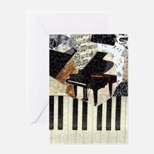 Piano9x8 Greeting Card