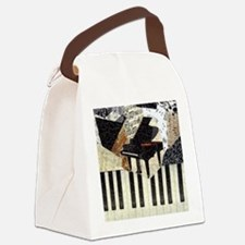 Piano9x8 Canvas Lunch Bag