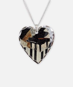 Piano9x7 Necklace Heart Charm