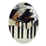 Piano Oval Ornaments