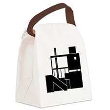 Gwathmeyblack Canvas Lunch Bag