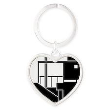 Gwathmeyblack Heart Keychain